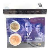 U.s. Mint Presidential 1 Coin And Spouse Medal Set Franklin And Eleanor Roosevel