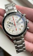Omega Speedmaster Mark 40 Automatic Chronograph White Dial Quickset Date Watch