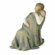 Demdaco Willow Tree Figurine The Quilt Mother And Child 26250