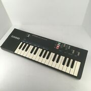 Vintage Casio Pt-100 Electronic Musical Instrument Synthesizer Keyboard Tested