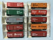 N Scale Mtl Great Northern 10-set 40and039 Circus Cars Original Collector Road And039s