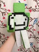 Dream Smp Minecraft Youtube Character Yt Game Plush Toy Figure 10.5andrdquo