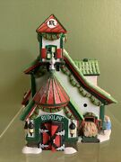 Dept 56 The Reindeer Stables Rudolph 4025278 Rare North Pole Series