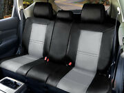 Universal Rear Seat Car Cushion Covers Compatible For Saturn Vehicles