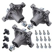 3x 48 Mower Deck Spindle Assembly Fit For Husqvarna Gth2548 Yth1848 Yth2148