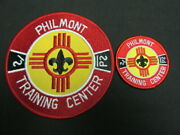 Philmont Scout Ranch Training Center Pocket And Back Patches   Eb25