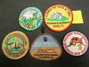 Philmont Scout Ranch Lot Of Patches    Eb25 8