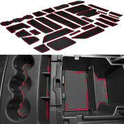 Cup Holder Inserts For 14-18 Chevy Silverado 1500 Gmc Sierra Liner Accessories