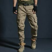 Men Cargo Pants Military Tactical Pants Multiple Pockets Outdoor Menand039s Pants