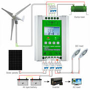 12v/24v 1400w Hybrid Solar Wind Charge Controller Solar Charge Controller Auto