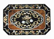 36 X 60 Inches Marble Coffee Table Top Peitra Dura Art Hallway Table For Home