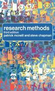 Research Methods By Steve Chapman 9780415340755   Brand New   Free Us Shipping