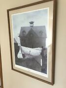 Liberty Launch By Andrew Wyeth Signed Print Rarely Seen