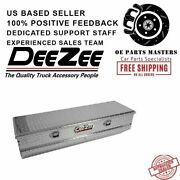 Dee Zee Dz8556 Red Label Single Lid Utility Chest Tool Box With Slanted Front