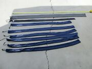 Vintage Fishing Rod Covers Set Of 8 Covers