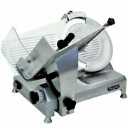 Meat Slicer 14andprime Blade Belt Drive Atosa Ppsl-14 1/2hp Compact Heavy Duty Freeship