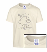 Hungover Drinking Party Day After Drunk Honeville Novelty Unisex T-shirt Adult