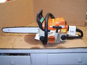 Stihl Ms 180 C-be Chainsaw With New 16 Inch Bar And New Chain