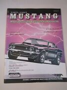 1966 Ford Mustang Owners Manual And 1969 Ford Shop Manual And '65 - '93 Manual Bba28