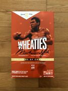 Wheaties Century Collection Gold Box 1 Muhammad Ali Sold Out - In Hand
