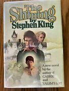 The Shining Stephen King 1st/1st Vg+ Dj Signature Laid-in By Previous Owner