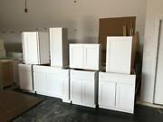 10and039 X 10and039 White Shaker Kitchen Cabinetsandnbsp