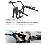 Universal 3 Bike Bicycle Carrier Rear Trunk Mount Heavy-duty Holder For Ford