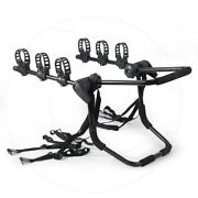 Fit Jeep 3-bike Rear Trunk Mount Rack Suv Or Car Sport Bicycle Holder Carrier
