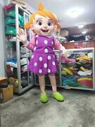 Oem Yoyo Girl Mascot Costume Cocomelon Character Cosplay Halloween Party Event
