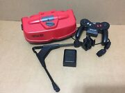 Nintendo Virtual Boy Red And Black Console - For Parts Please Read