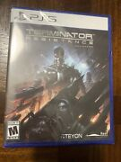 Ps5 Terminator Resistance Enhanced Edition Limited Run Playstation 5 Brand New
