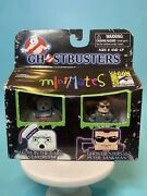 Minimates Ghostbusters Glow In Dark Stay Puft And Gb2 Peter Venkman Sdcc Excl