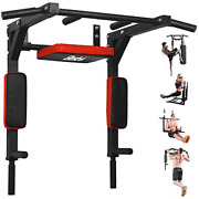 Besthls Pull Up Bar Wall Mounted Chin Up Bar Wall Mount Multifunctional Dip For