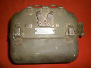 U.s.armywwii 1944 Signal Corps Generator Gn-58 And 2 Cranks Gc-7 And Cable-cd-108