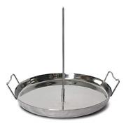 Trompo King Stainless Vertical Skewer For Barbecue Grill, Great For Tacos Al And