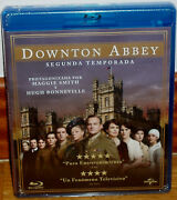 Downton Abbey 2 First Season Complete 2 Blu-ray New Sealed Sleeveless Open R2