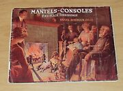 Rare Early 1900's Sears Roebuck And Co Mantels-consoles Catalogfire Place