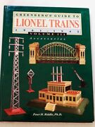 Greenberg's Guide To Lionel Trains Accessories 1901-1942 Vol.111 Hard Cover