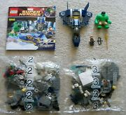 Lego Super Heroes - Rare Hulk's Helicarrier Breakout 6868 - Mostly New And Sealed