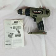 Porter Cable Cordless Drill Driver Model 884 19.2 V No Battery 1/2 13mm