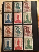 Russia 1937 Mnh/mh Stamps. 2 Sets 12.5 And 1412.5 Perforations.
