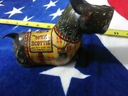 Vintage Marx Wee Scottie Wind Up Tin Toy No Key...parts Only