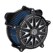 Air Cleaner Blue Intake Filter For Harley Road King Police Flhp Street Tri Glide