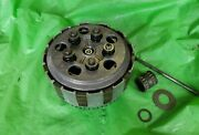 1981 1982 Suzuki Rm125 Rm 125 Clutch Basket Hub And Springs Plate Assembly