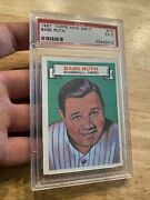 Babe Ruth Psa 5 Topps 1967 Antique Vintage Baseball Collector Card Man Cave Gift