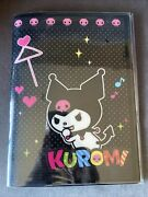 Kuromi Vintage Notebook With Pvc File. 2009