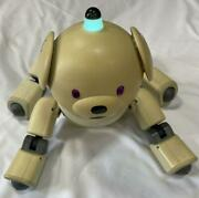 Sony Aibo Latte Ers-311 Entertainment Robot Dog Many Accessories Set
