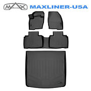 Smartliner Floor Mats And Cargo Set For 16-18 Lincoln Mkx/19-2021 Lincoln Nautilus