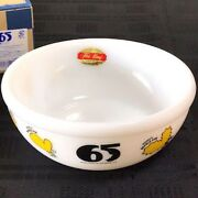 65th Anniversary Snoopy Limited Fire King Bowl New Made In Japan From Japan F/s