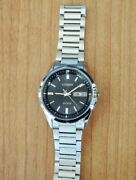 Vintage Citizen Exceed Radio Solar H100-t021212 Menand039s Watch Used Authentic